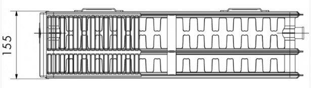 радиатор Korado RADIK KLASIK тип 33