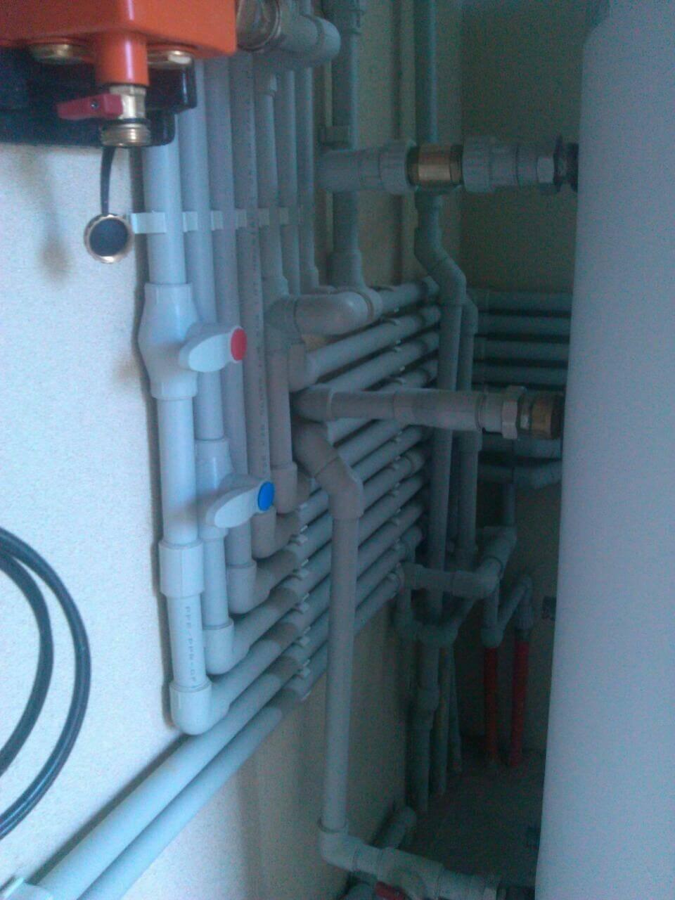 Монтаж наружного и внутреннего водоснабжения