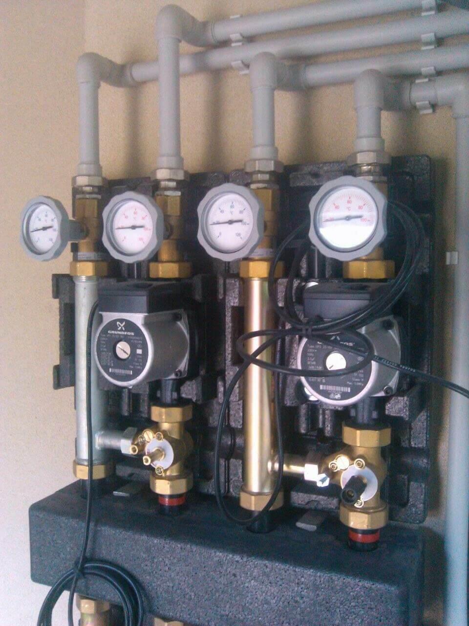 услуги внутреннего водоснабжения